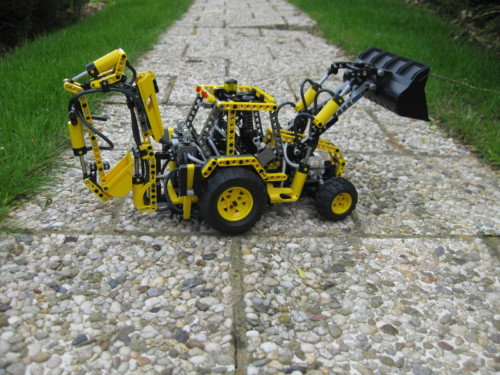 8455 - Back-hoe Loader